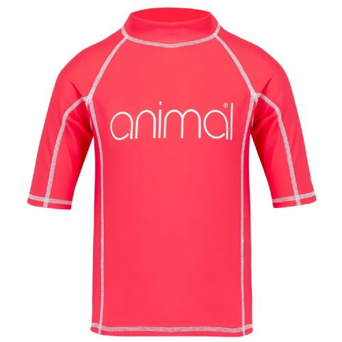 ANIMAL GIRLS RASH VEST.NEW MOLLI UPF50+ SUN PROTECTION GUARD TOP T SHIRT 8S 15 P